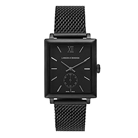 Larsson & Jennings Norse Unisex-Adult Mechanical Watch, Analogue Classic Display and Stainless Steel Strap