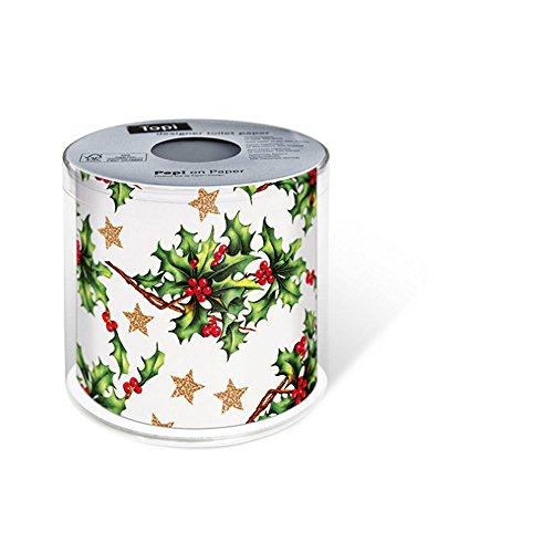 PAPER+DESIGN Toilettenpapier FSCMix 200 Bl. Holly all over