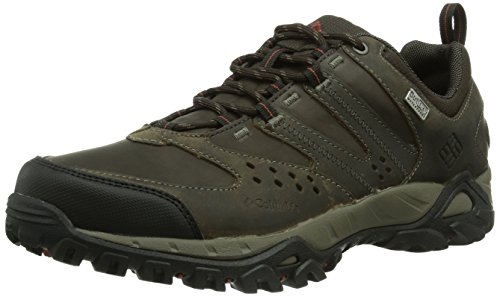 Columbia Peakfreak Xcrsn Leather Outdry Scarpe da Trekking, Uomo, Marrone (255), 9