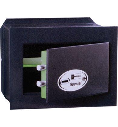 MOTTURA 6342Alp cm 29x 39x 20-Sicher mit Schlüssel aus Spezialstahl Single Hohe Dicke, ein Körper ohne SALDATURA. LOCK Doppel-Karte, Öffnung auf alles VANO. Dicke 8mm Dicke Tür Rahmen 8mm -