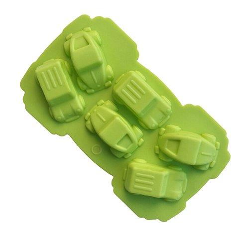 Mini-Auto-Form aus Silikon, für Fondant, Kuchen, Schokolade, Dekoration, Backen Einheitsgröße a
