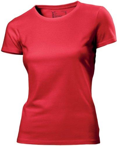 Hanes - T-shirt -  Femme red