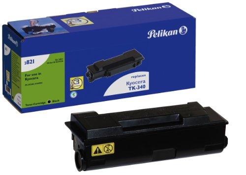 Preisvergleich Produktbild Pelikan Toner-Kit 2821TK ersetzt Kyocera TK-340, Schwarz, 12500 Seiten