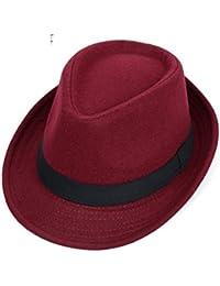 Sombreros de moda Caballero de casquillos de Inglaterra Gorro de lana  Sombreros de 546c97625f9
