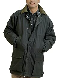 ff568d7e832d9 Country Leisure Wear British Quilted Wax Rain Jacket