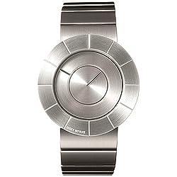 Issey Miyake Herren-Armbanduhr Analog Edelstahl grau IM-SILAN001