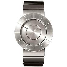 Issey Miyake IM-SILAN001 - Reloj de caballero de cuarzo, correa de acero inoxidable color gris