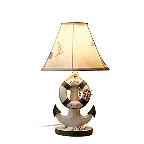 LGK&FALampes de table de chevet et lampe de chevet Chambre enfant veilleuse Cartoon cadeau de mariage méditerranéen 42*14cm