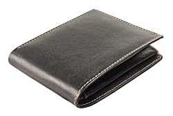 iMEX Mens Black&Cherry Combo Genuine Leather Wallet