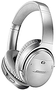 Bose QuietComfort 35 II Noise-Cancelling Wireless Bluetooth Headphones;Mic with Superior voice pickup - Silver