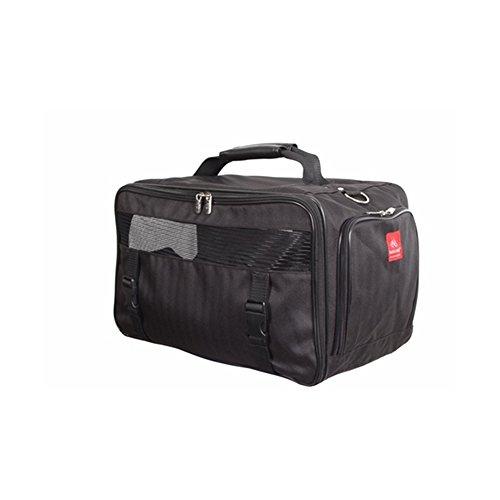 bark n bag 45,7x 25,4x 25,4cm Classic Noir Herringbone Transportbox, mittel
