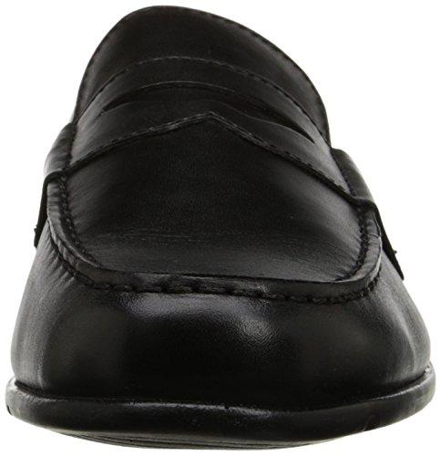 Rockport Rockport Leder Loafer Classic Classic Rund Black II Penny Slipper HBdYSqn