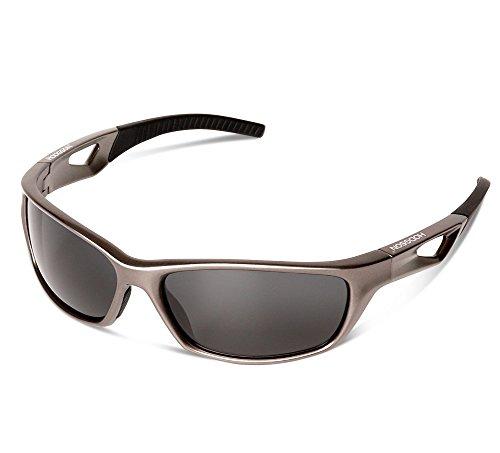 Polarisierte Herren Sonnenbrille Sportbrille Woodland Camo XP25 (Camouflage Stone / Smoke) ucpO6lob