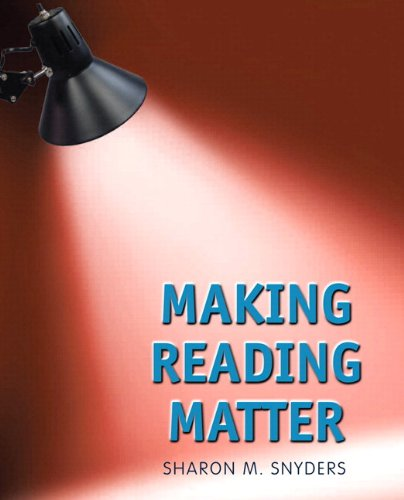 Making Reading Matterwith NEW MyReadingLab with eText -- Access Card Package