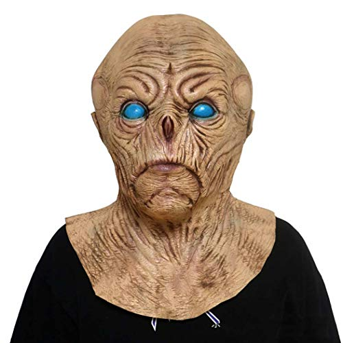 ie-Latex-Maske Resident Bösen Vampir Beängstigend Bald Gesichtsmaske,Photocolor,Onesize ()