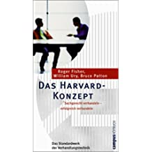 Das Harvard-Konzept: Sachgerecht verhandeln - erfolgreich verhandeln