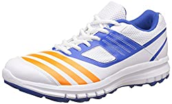 adidas Mens Howzatt Ar Ftwwht, Borang and Blue Cricket Shoes - 6 UK/India (39.33 EU)