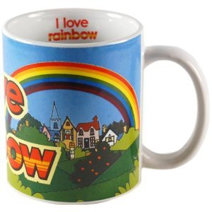 Official I Love Rainbow ITV Kids Show Mug, gift boxed