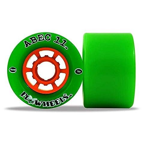 ABEC 11 Flywheels 76mm Longboard Wheels x4