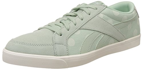 Reebok Classics Women's Reefunk Ii Lo Core SAGE/OPAL/CHALK/WHITE Leather Sneakers – 5 UK 411P9bOBB5L