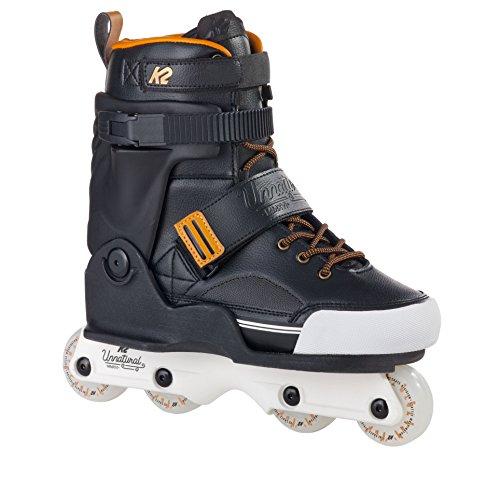 K2 Skate Unnatural Inline Skates, Black/Gold, 10