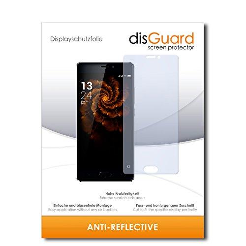disGuard® Bildschirmschutzfolie [Anti-Reflex] kompatibel mit Allview X3 Soul Pro [2 Stück] Entspiegelnd, Matt, Antireflektierend, Extrem Kratzfest, Anti-Fingerabdruck - Panzerglas Folie, Schutzfolie