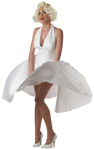 e Costume Adult Small (Marilyn Monroe Kostüme Sexy)