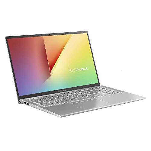 ASUS VivoBook 15 F512FA (90NB0KR2-M02760) 39,6 cm (15,6 Zoll, FHD, WV, Matt) Notebook (Intel Core i3-8145U, 8GB RAM, 256GB SSD, Intel UHD-Grafik 620, Windows 10) Transparent Silver -