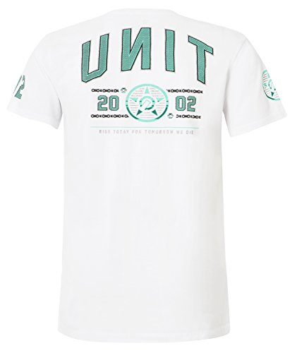 Unit T-Shirt Launch Weiß Weiß