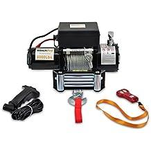 Cabrestante Electrico 12v Winch 2721Kg con Mando a Distancia - AG/AW-6000W