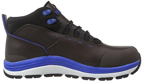 Proteq Sirius Hi-top S1p Sra Hro, Chaussures de sécurité mixte adulte Noir - Noir