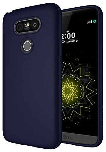 Custodia LG G5, Diztronic Serie TPU Opaca Case Cover per LG G5 - Blu