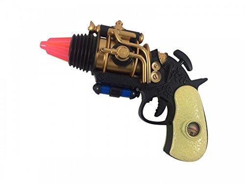 Steampunk Pistole Waffe Attrappe Accessoire Kostüm-Zubehör Spielzeug Knarre Burning Man