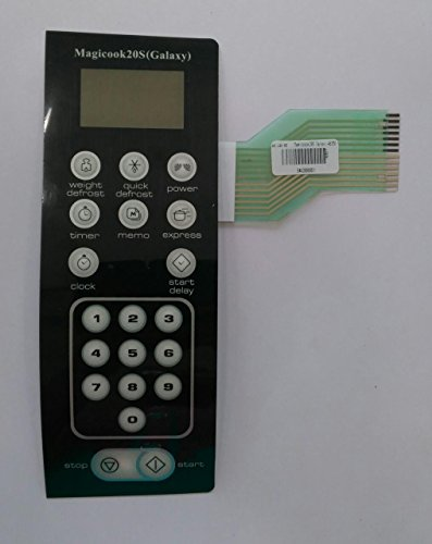 Microwave Oven Membrane Keypad . ABLE . Model No : Magiccook 20S Galaxy .