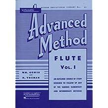 Rubank Advanced Method: Flute, Vol. I (Rubank Educational Library)