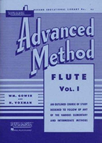 1: Rubank Advanced Method: Flute, Vol. I (Rubank Educational Library No. 95)