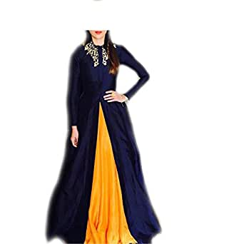 vaankosh fashion Cotton Lehenga Choli (B01HGX6NBS_Blue_ )