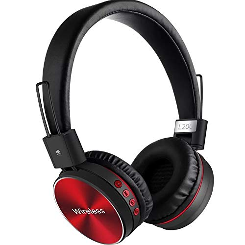 WL feier headset auricolare Bluetooth del telefono cellulare Bluetooth cuffie Wireless Regalo,Gules