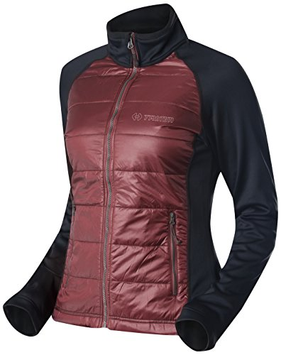 Trimm Damen Jacke Candy Bordo/Black