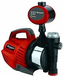 Einhell RG-AW 1139 Hauswasserautomat, 1100 Watt, 4100 l/h Fördermenge, Edelstahlanschluss, Überlastschutz