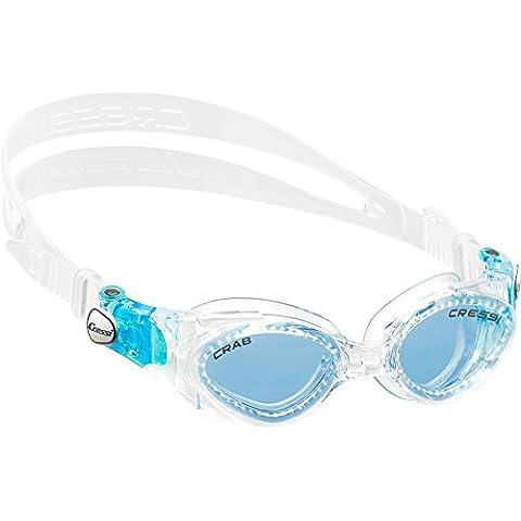 Cressi - Gafas de natación Crab, color blanco