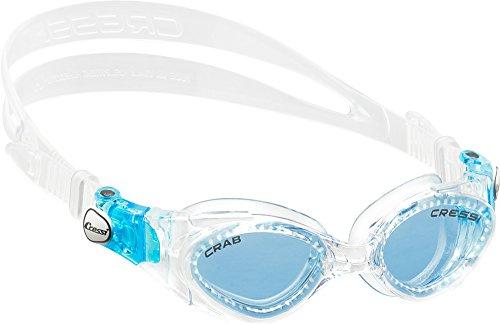 Cressi Jungen Crab Goggles Schwimmbrillen 2 / 7 Jahre - Made in Italy