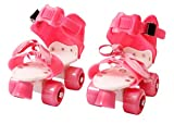 #9: Assemble Pro Lite Roller Skates Shoes For Kids / Childrens - UNISEX (Pink) In-line Skates - Size 12-16 UK
