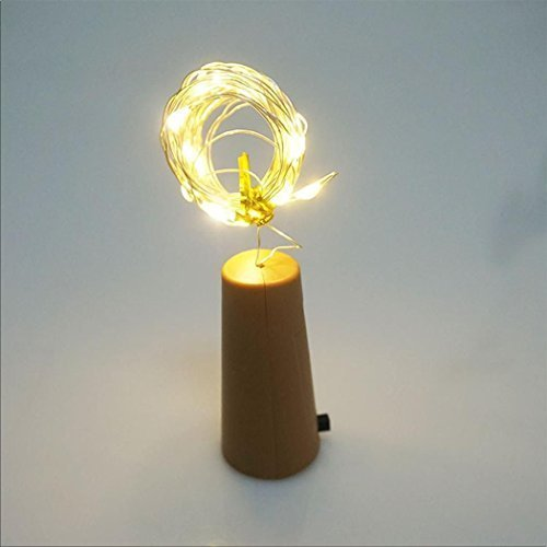80cm Kupfer mit LED-Flasche mit Leuchtmittel, 8-String