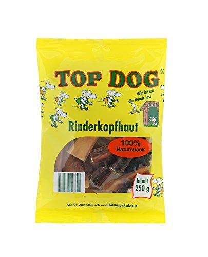 Top Dog deutsche PREMIUM Rinderkopfhaut 250g - Kopfhaut - Rind