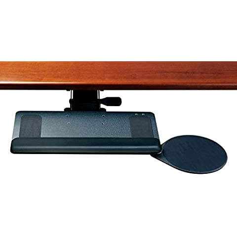 Humanscale 900Tastiera Standard vassoio–2G standard nero Braccio Meccanismo–12R Palm Pad 10gel