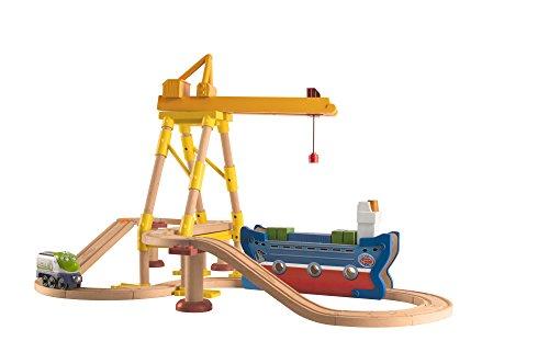 Chuggington Holzeisenbahn einfach track- Dockyard)