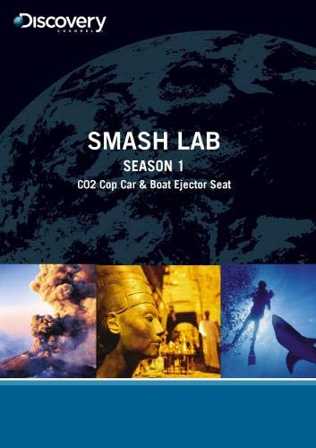 Smash Lab Season 1 - C02 Cop Car & Boat Ejector Seat (Tv-serie Dvd Smash)
