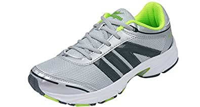 Campus Swiss Silver Men Sports Shoes Size- 6