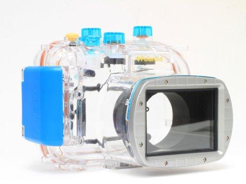 Polaroid wasserdichtes Tauch-/Unterwassergehäuse für die Canon Powershot G11, G12 Digitalkamera